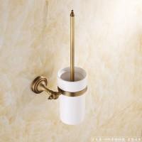 ** 全铜欧式仿古马桶刷  复古清洁刷 厕所毛刷子套装 100%全铜 梦尔飞卫浴挂件 现货供应