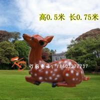 重庆康大雕塑定制 玻璃钢 鹿玻璃钢雕塑定做 玻璃钢鹿仿铜