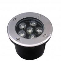 工厂直销户外圆形地埋灯 6W 大功率LED埋地灯 水下灯过道