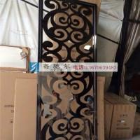 不锈钢屏风书画雕花 传统因素设计 定做 不锈钢隔断图片