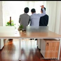上海办公家具员工桌电脑桌子职员办公桌椅四4人位组合屏风工作位