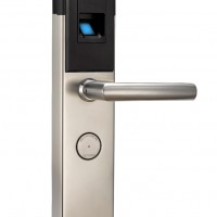 防盗门锁,指纹防盗锁,指纹密码刷卡钥匙四合一开门,防盗密码门锁